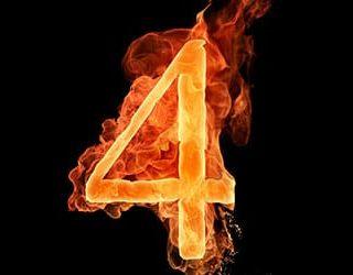 Цифра четыре
