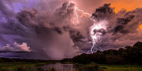 гром и молния во сне