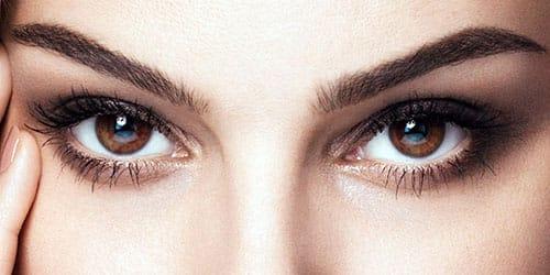 красивые карие глаза