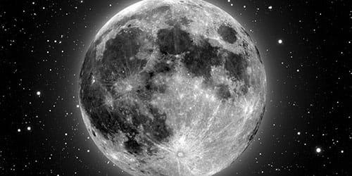 к чему снится большая и полная луна