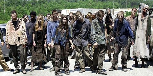 покойники превратились в зомби