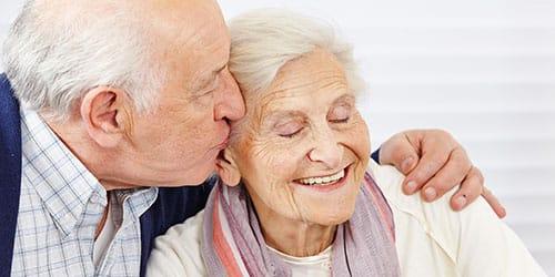 покойный дедушка и бабушка