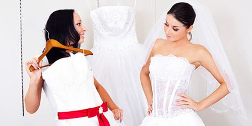 к чему снится покупать свадебное платье