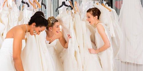покупка дорогого подвенечного платья