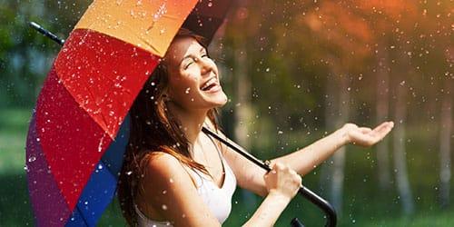 радоваться дождю