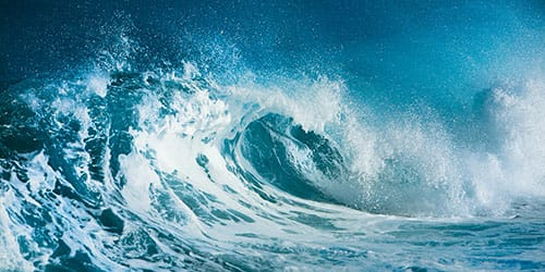 к чему снится синее море
