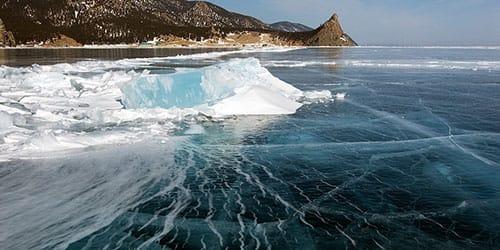 море скованно льдом
