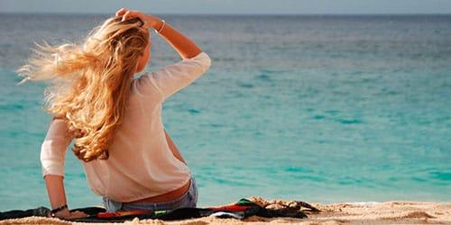 девушке приснилось синее море