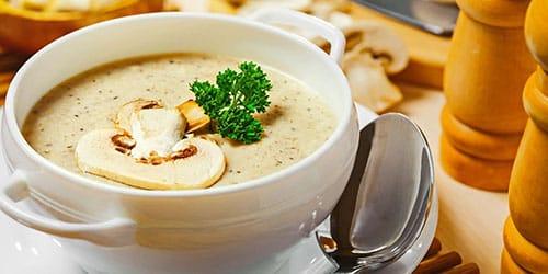 готовить грибной суп