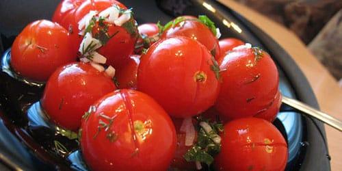 к чему снятся соленые помидоры