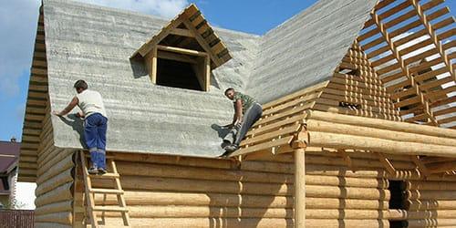 строить новый деревянный дом