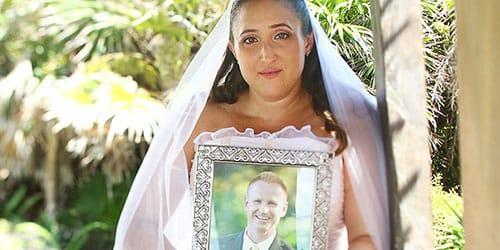 невеста у алтаря без жениха