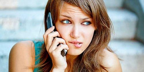 телефонные звонки от бывшего