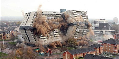 видеть взрыв дома во сне