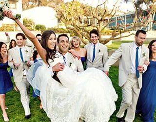 Быть на свадьбе гостем