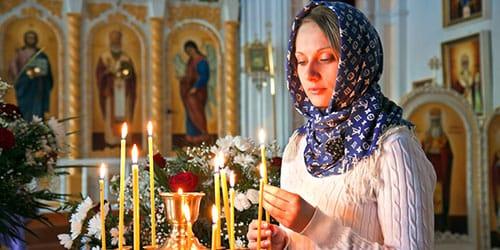да чаго сняцца царкоўныя свечкі