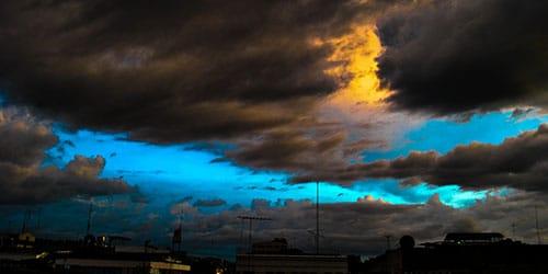 видеть черное небо во сне