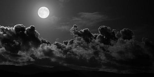 к чему снится черное небо