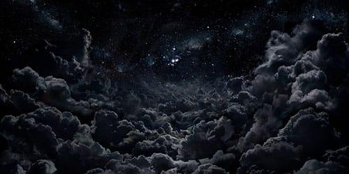 приснилось черное небо