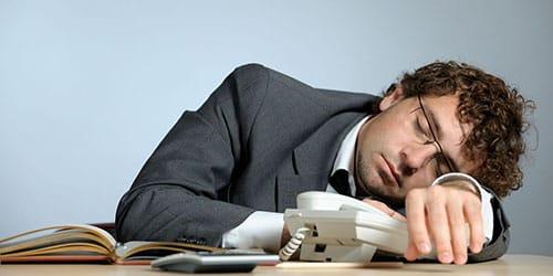 начальник спит