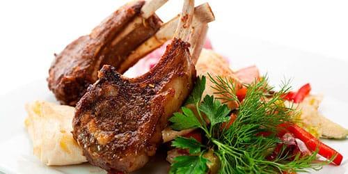 мясо на ребрышках