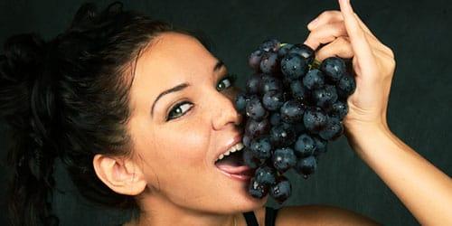 гроздья черного цвета