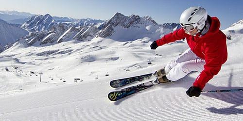 кататься на лыжах
