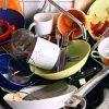 немытая посуда