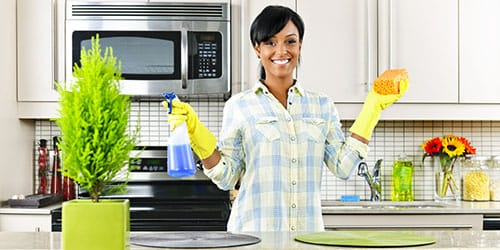 наводить порядок на кухне