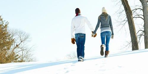 к чему снится идти по снегу