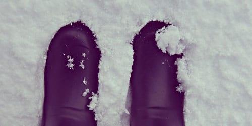 ходить по снежку