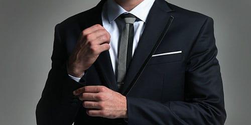 костюм классического покроя