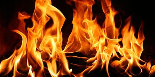 к чему снится огонь пламя