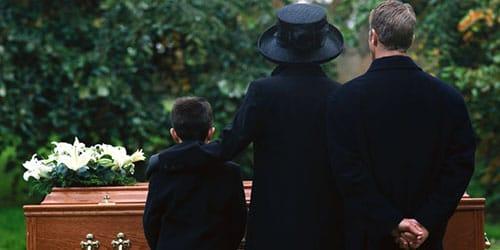 похороны отца