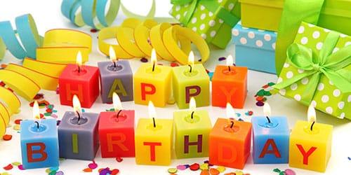 отмечать собственный день рождения