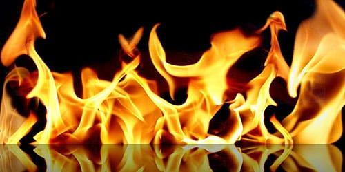 языки огня
