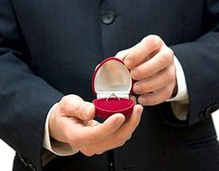 Подарили золотое кольцо