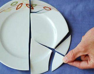 Разбить посуду