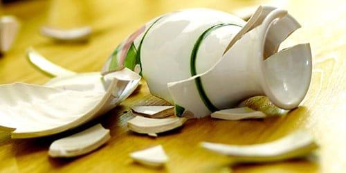 к чему снится разбитая посуда