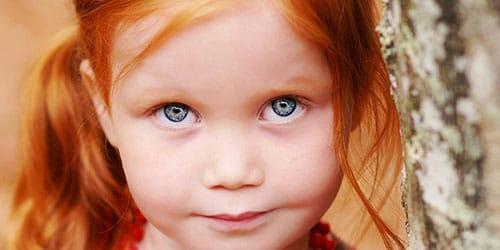 рыжая малышка