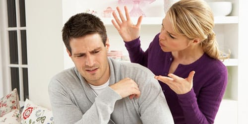 скандал с мужем