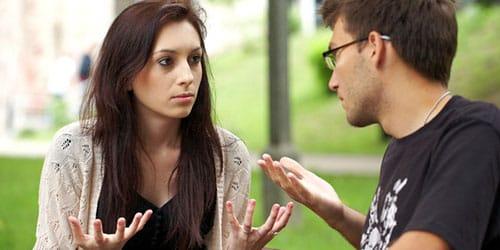 конфликт с парнем