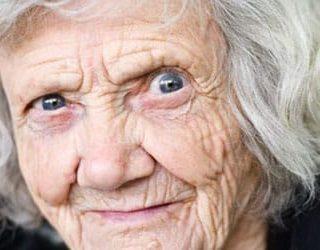 Старая бабка
