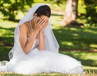 Свадьба не состоялась