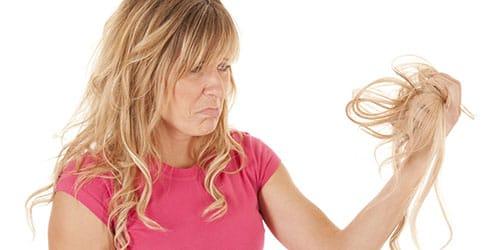 клок волос