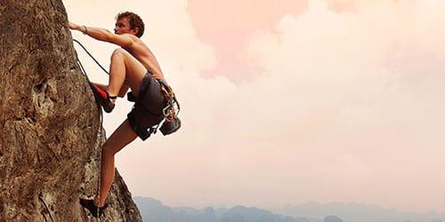 взбираться на гору во сне