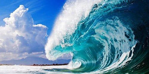 к чему снятся большие волны на море