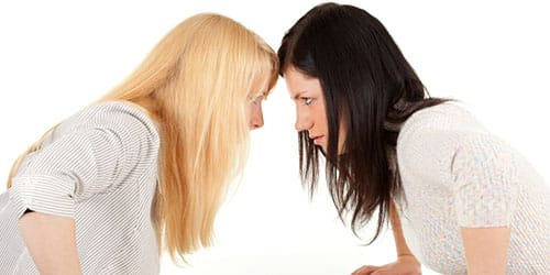 ссора с приятельницей