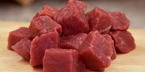 кусочки мяса