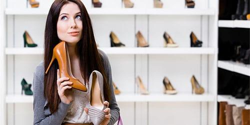 выбирать туфли
